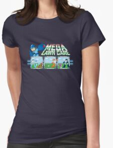 Mega Lawn Care Womens Fitted T-Shirt