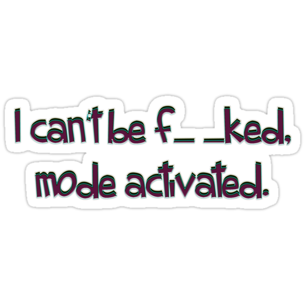 mode activated... - sticker by vampvamp