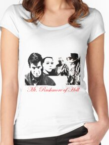 The Founding Fathers of Horror  Women's Fitted Scoop T-Shirt