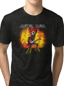 Metal Man! Tri-blend T-Shirt
