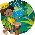 African boy by Macy Wong