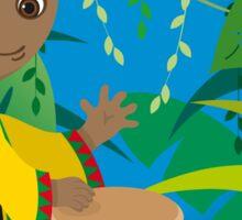 African boy Sticker