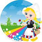 Dutch girl by Macy Wong