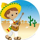 Mexican boy by Macy Wong