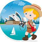 Australian boy by Macy Wong