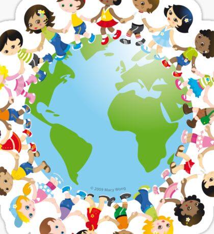 World kidz Sticker