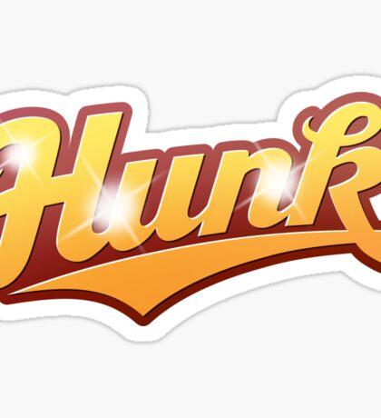 Hunk - sticker Sticker