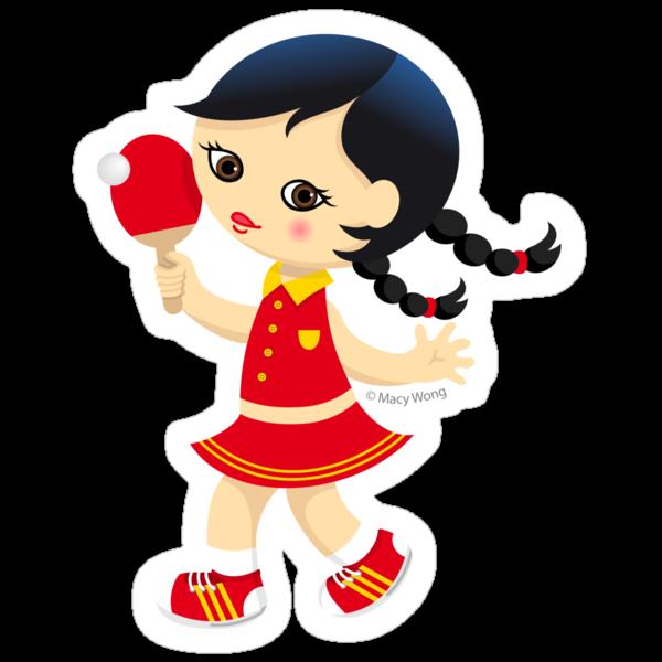 Ping pong by Macy Wong