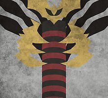 Giratina (Origin) by jehuty23
