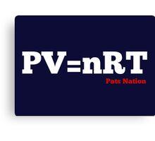 PV=nRT Canvas Print