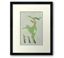 Virizion Framed Print