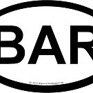 BAR location sticker by SOIL