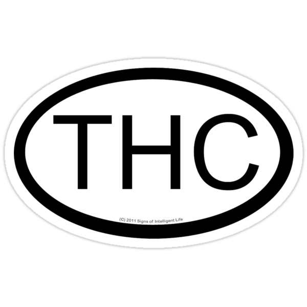THC location sticker by SOIL