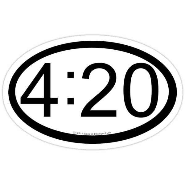 420 location sticker by SOIL