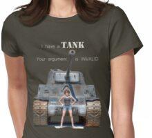 Tank Shirt Womens Fitted T-Shirt