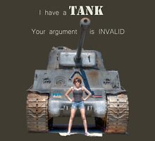 Tank Shirt Womens Fitted T-Shirt