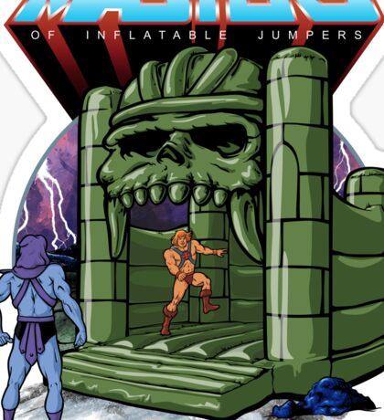 Bouncy Castle Grayskull  Sticker