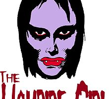 Mani-Yack Vampire Girl Sticker by monsterfink