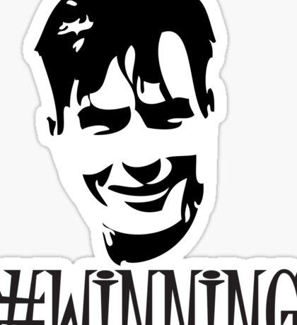Charlie Sheen is Winning (Sticker) Sticker