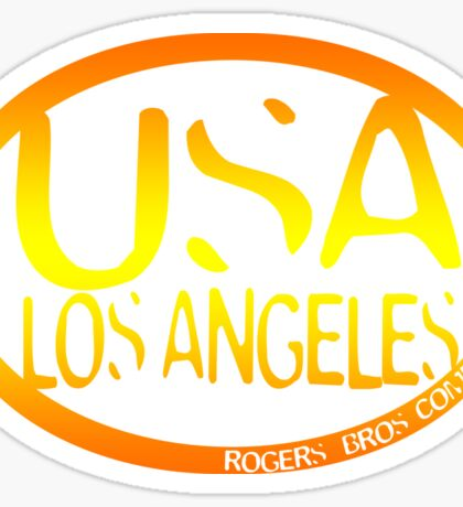 usa la sticker by rogers bros Sticker