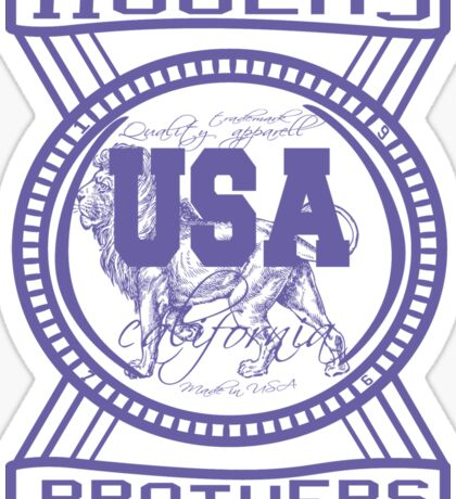 usa california sticker by rogers bros Sticker