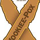 Wookiee-Pox Awareness - Sticker by Captain RibMan