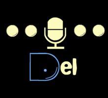 Del Show Puck-Man Sticker