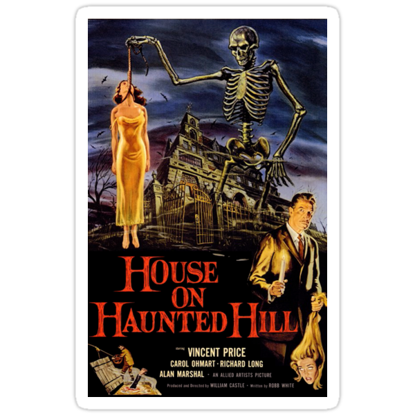 House On Haunted Hill by Jenn Kellar