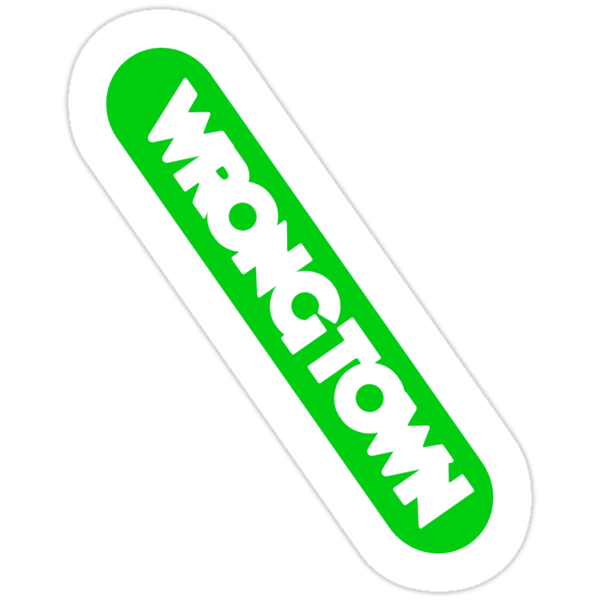 Wrongtown - Capsule - Green by houseAU