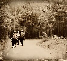 Riding back to days of old... by Donna Keevers Driver