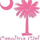 Pink Carolina Girl Palmetto Moon by PalmettoTrading