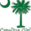 Green Carolina Girl Palmetto Moon by PalmettoTrading