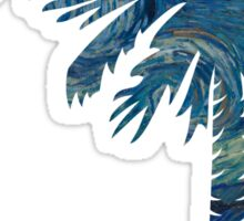 Starry Night Palmetto Moon Sticker