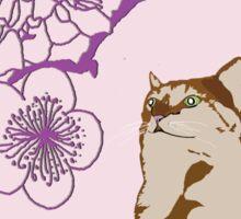 Under A Cherry Blossom Sticker