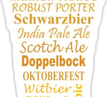 Craft Beer - Sticker Sticker