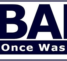 NOBAMA 2012 - Once Was Bad Enough - Sticker by vonaras