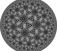 Barnsley Tessellation Three by Pam Blackstone