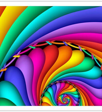 Rainbow Stitchery Sticker