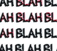 blah - sticker Sticker