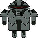 DroidArmy: Cylon Sticker by Nana Leonti