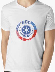 Model UN   Community Mens V-Neck T-Shirt