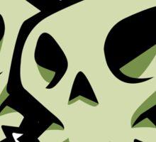 Skulls Sticker Sticker