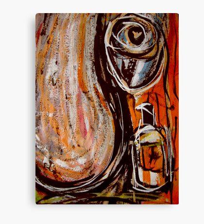 long vivid night... just a dream Canvas Print