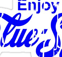 Enjoy Blue Sun Sticker