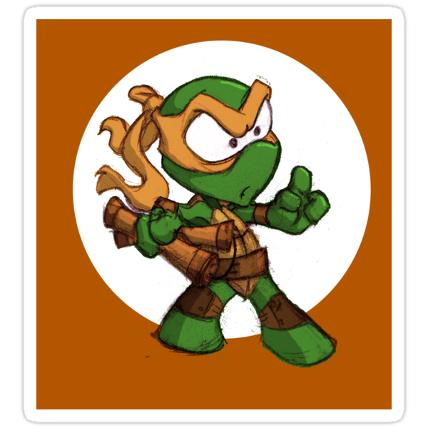 Tiny Mutant Ninja Turtles-Mikey by Mike Victa