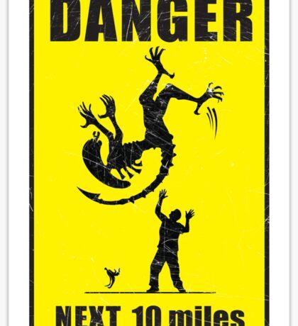 DANGER! Complicated Death Ahead - STICKER Sticker