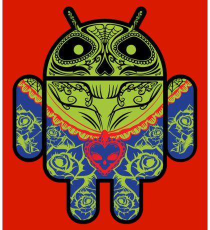 Dia de los Android Muertos STICKER Sticker