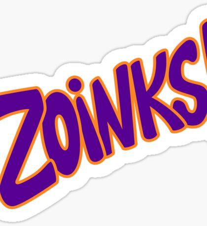 Zoinks Sticker