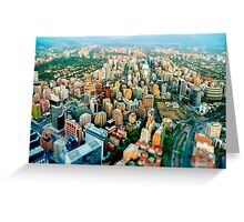 Santiago, Chile Greeting Card