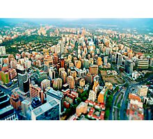 Santiago, Chile Photographic Print